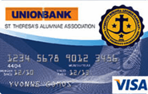 UnionBank St. Theresa's Alumni Association Credit Card