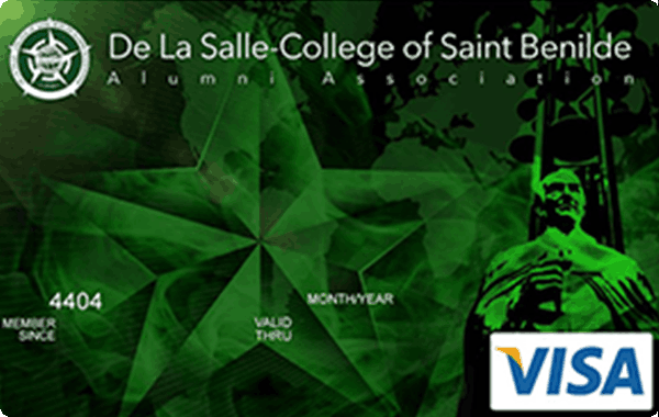 UnionBank De La Salle - College of Saint Benilde Alumni Association Visa Card