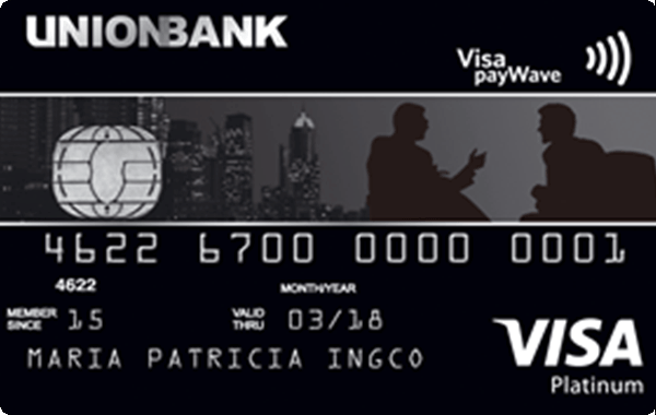 UnionBank Platinum Visa Card