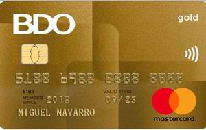BDO Gold Mastercard