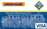 UnionBank People Management Association of the Philippines Visa Card