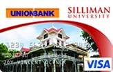 UnionBank Siliman University Visa Card