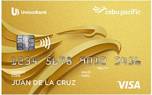 UnionBank Cebu Pacific Gold Credit Card