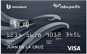 UnionBank - UnionBank Cebu Pacific Platinum Credit Card