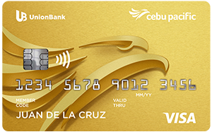 UnionBank - UnionBank Cebu Pacific Gold Credit Card