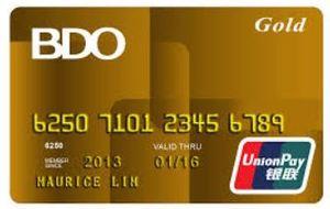 BDO UnionPay Gold